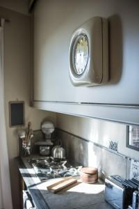 Dettaglio della cucina