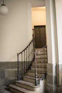 La scala del palazzo